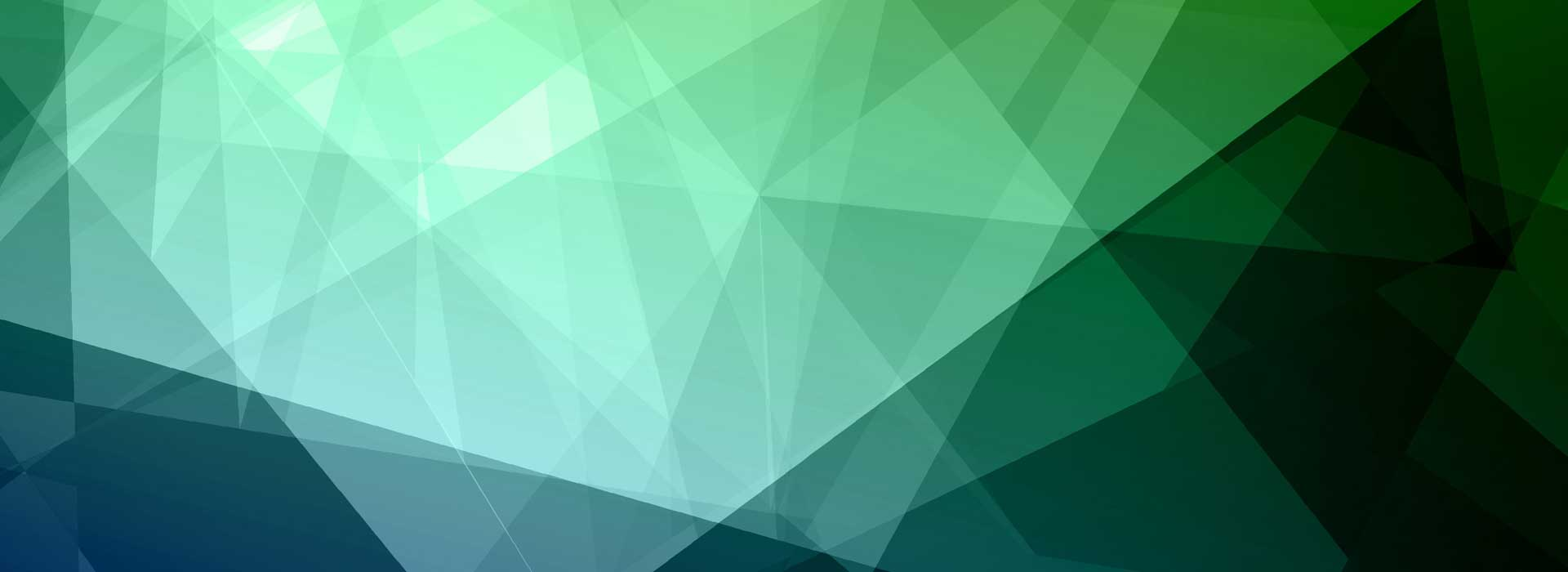 geometric, blues, greens, triangles, gradient