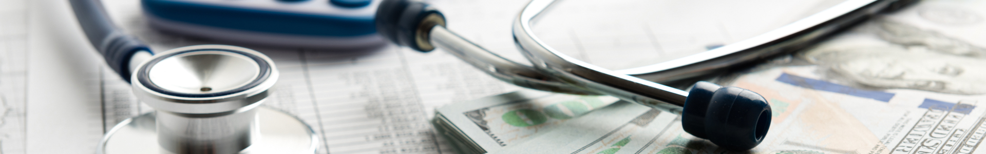 Stethoscope money - Health Savings