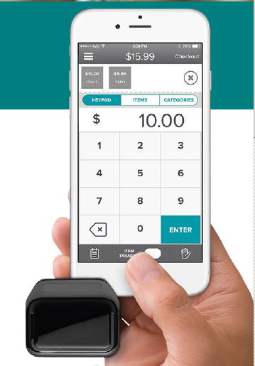 Kinetic Pay, Iphone, screen, mobile reader