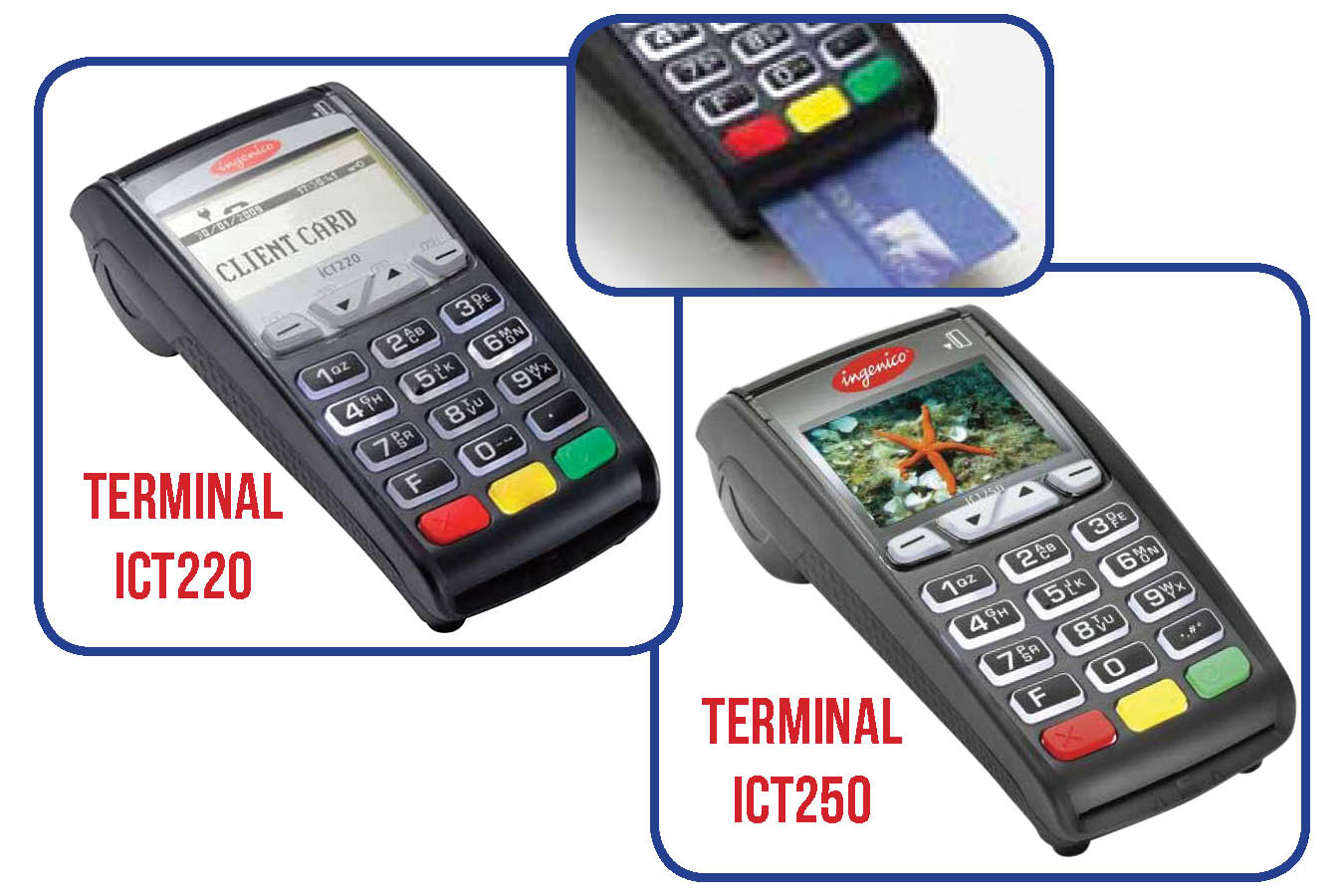 Merchant Program Terminal models