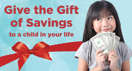 Give the Gift of Savings Graphic