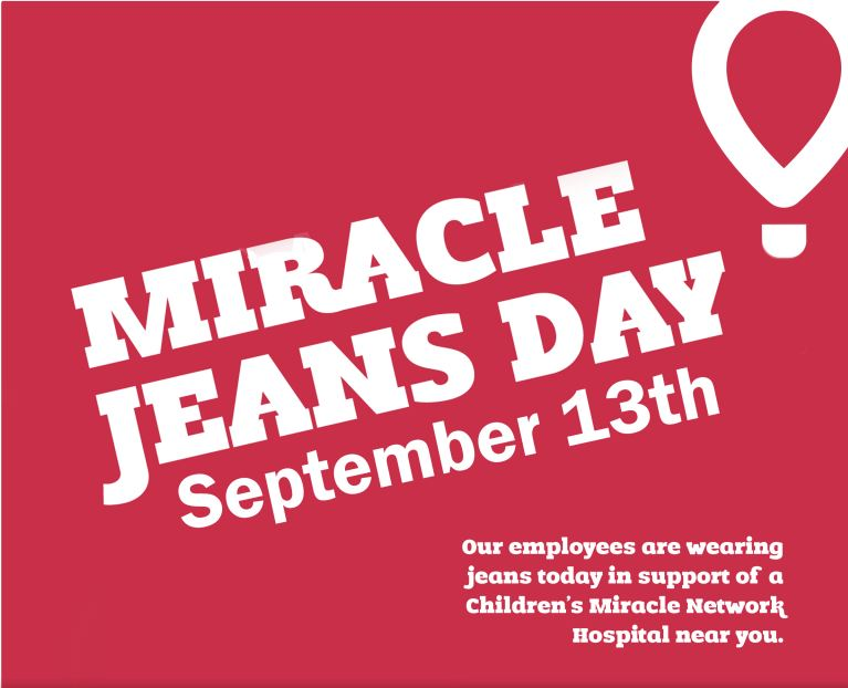 Miracle Jeans Day, September 13