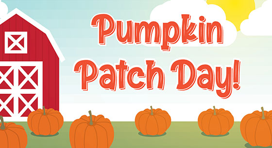Pee Wee Pumpkin Patch Day