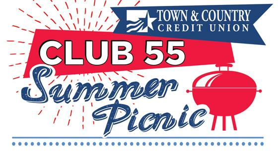Town & Country Credit Union Club 55 Summer Picnic