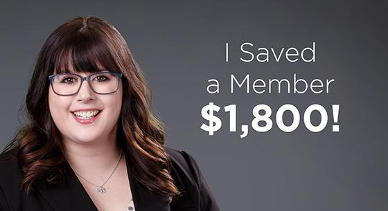 Emily Brick, I Saved a Member $1,800!