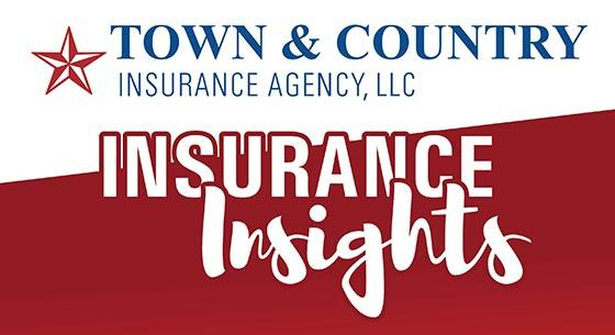 Town & Country Insurance Agency logo with a red star and the words Insurance Insights
