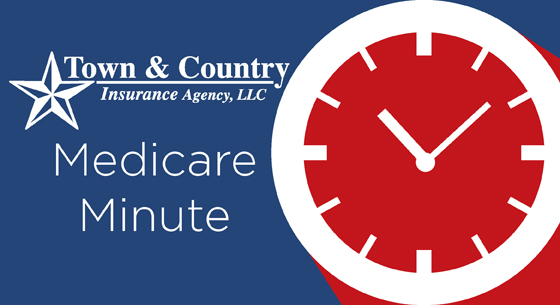 clock Medicare Minute Town & Country Insurance