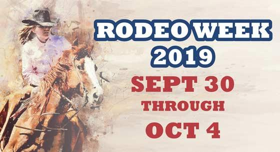 Rodeo Week 2019 Sept 30 through Oct 4, Minot Y's Men's Rodeo