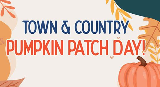 Town & Country Pumpkin Patch Day