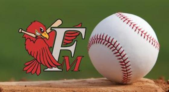 RedHawks Logo with Baseball