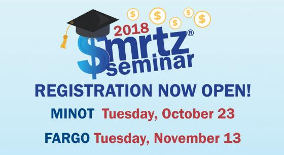 Registration Open Graphic for $MRTZ Fargo and Minot