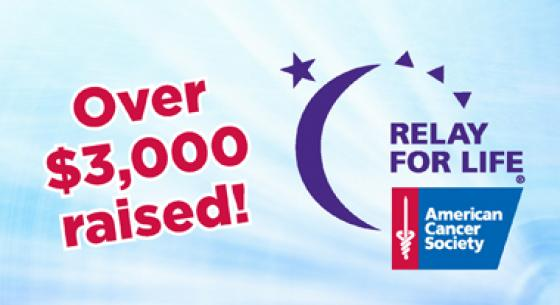 Town & Country raised over $3,000 for Relay for Life