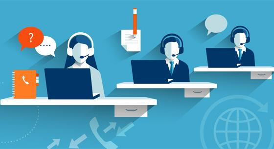 contact center image