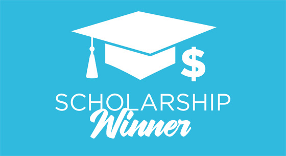 Scholarship Winner Cap Dollar Sign